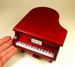 グランドピアノ型オルゴール・・・ 豊富な曲目よりお選び下さい。ピアノ型オルゴール 18弁オル...