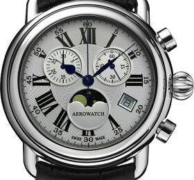 アエロウォッチ女性用腕時計(クォーツ)Harlequin-Flowersスイス製33932-AA04-DIA[送料無料]