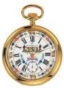 アエロ懐中時計(手巻き) 金時計 (18金メッキ) スイス製 50618-J501 [送料無料]