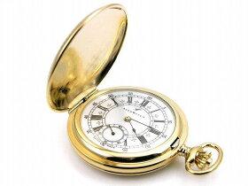 アエロ懐中時計(手巻き)金時計(18金メッキ)スイス製55629-J501[送料無料]