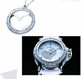 ビジュモントレ女性用ダイアモンド腕時計(BijouMontre)Irises-Whiteクォーツスイス製7510T[送料無料]