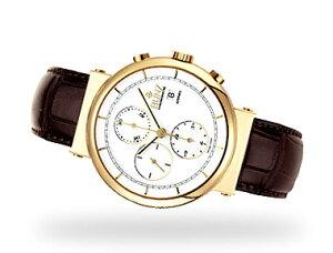 ブンツ腕時計 (スイス製) BUNZクロノグラフ 金時計(18K)6701-4401