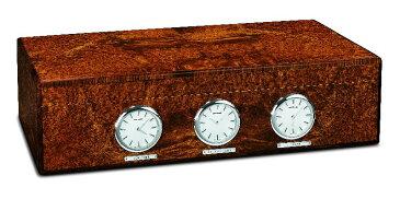 リュージュ 144弁カーテル オルゴール内蔵時計