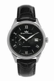 【ヨンガー&ブレッソン】フランス製機械式腕時計Yonger&BressonBoissac-YBH8360-01[送料無料]