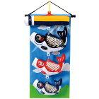 室内飾り五月人形タペストリー室内鯉のぼり壁掛鯉飾り富士山(小)【送料無料】