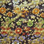 西陣織金襴「桜流水柄」10cmからの切り売り 京都西陣織 金襴・生地・ 和柄・和小物・人形衣装・和雑貨・ バッグ・祭衣装・インテリア・アパレル等に!