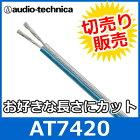 audiotechnica(オーディオテクニカ)AT742018ゲージスピーカーケーブル(切り売り)