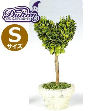 DULTON(ダルトン) CH07-G296S トピアリー ハート Sサイズ ハンドメイド/植物/インテリアグリーン/ミニ観葉植物
