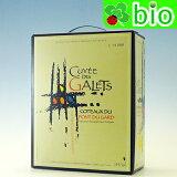 キュヴェ・デ・ガレ バッグ・イン・ボックス(3L)エステザルグ VdP du Gard - Cuvée des Galets d'Estezargues【あす楽_土曜営業】
