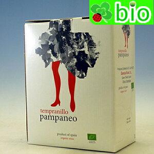 パンパネオ テンプラニーリョ・エコロヒコ バッグ・イン・ボックス(3L)エセンシア・ルラル Pampaneo Tempranillo Ecologico Esencia Rural【あす楽_土曜営業】