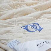 ビラベック羊毛肌ふとんウールケットオールシーズンシングルサイズ毛布の代わりに使える蒸れない心地よさ抜群の通気性5002014