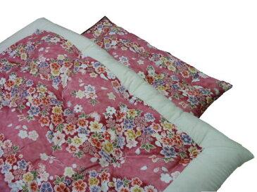 柄おまかせ! 天然素材 綿わた掛けふとん ダブルロングサイズ 190×210cm 昔ながらの綿わた 掛け布団 サイズオーダーOK