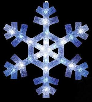 LED2Dブリリアントスノーフレーク(L)【イルミネーション】クリスマスイルミネーションモチーフ