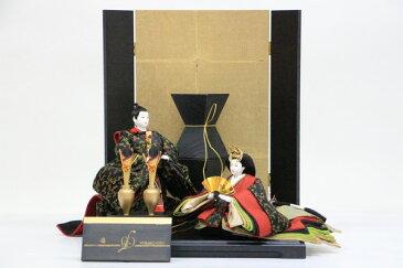 アート&デザイン 後藤由香子創作雛人形 PICCOLOシリーズ 凛 【雛人形親王飾り】