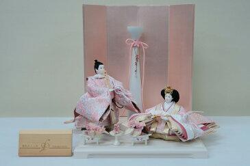 アート&デザイン 後藤由香子創作雛人形 PICCOLOシリーズ 春色のこころ 【雛人形親王飾り】