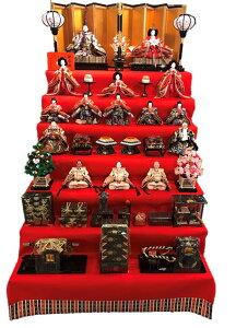 120歓喜雛15人(雛人形7段飾り)