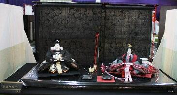 アート&デザイン後藤由香子作 花のワルツ 創作雛人形平飾り 【雛人形親王飾り】