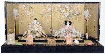 アート&デザイン後藤由香子作 さくら 創作雛人形平飾り 【雛人形親王飾り】