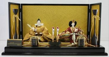アート&デザイン後藤由香子作 みやび 創作雛人形平飾り 【雛人形親王飾り】