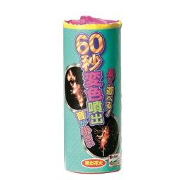 花火 噴出花火 噴出 地上噴出 玩具花火 60秒変色噴出