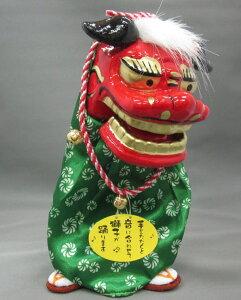 踊る獅子舞P-1500-Sグリーン又はゴールドをお選びくださいお正月飾り日本のお土産品