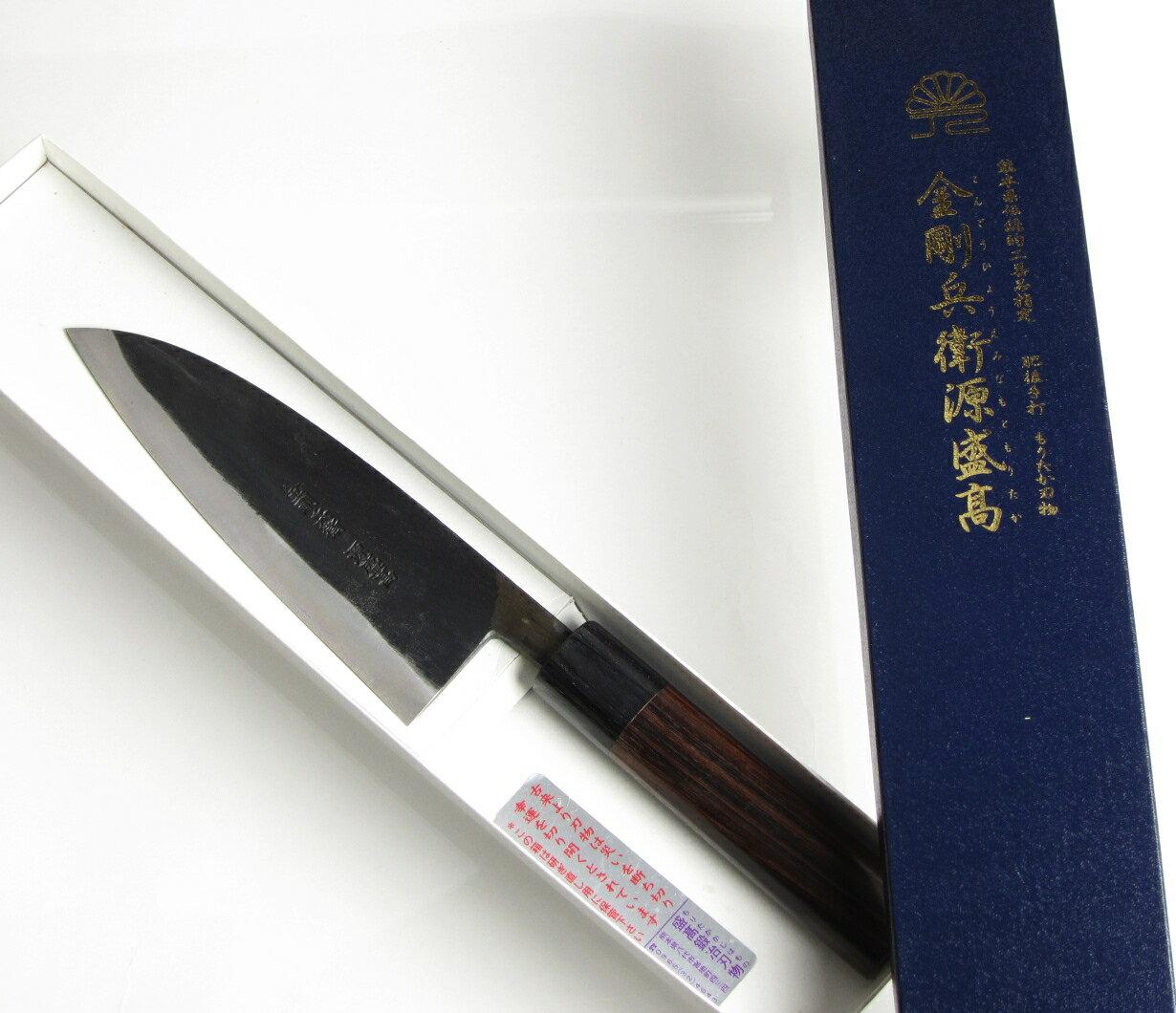 盛高鍛冶刃物『青紙スーパーシリーズ出刃包丁165mm(KD-165)』
