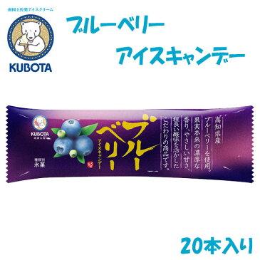 ブルーベリーアイスキャンデー 20本入/久保田食品/サイズ3/アイス/添加物不使用