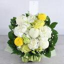 moriyaのお供えアレンジメント(サイズS)☆優しいお花で穏やかな気持ちに【フラワーギフト】【あす楽】