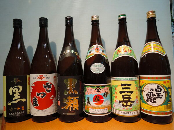 鹿児島芋焼酎スペシャル6本セット
