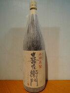 喜左衛門(木樽蒸留)1800ml25度白金酒造