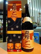 薩摩のどん【九州限定】1800ml25度(化粧箱入)白金酒造