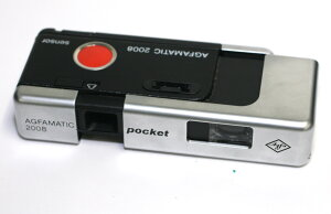 ドイツ製カメラ アグファマチック2008 センサー ポケットAgfa Agfamatic 2008 sensor pocket