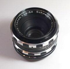 ドイツ製レンズ シュナイダークロイツナッハ エディクサ・クセノン 1.9/50 M42用Schneider-Kreuznach Edixa-Xenon 1:1,9/50 for M42