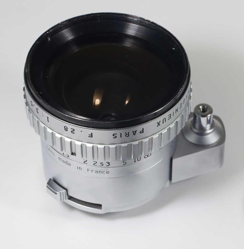 フランス製レンズ アンジェニュー 28/3.5 エクサクタ用P. Angenieux Paris Retrofocus 28/3.5 R11 for Exakta:森山農園&カメラ