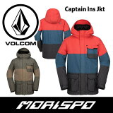 VOLCOM/ボルコム/CAPTAININS.JACKET/G0451705/16-17[モリスポ]