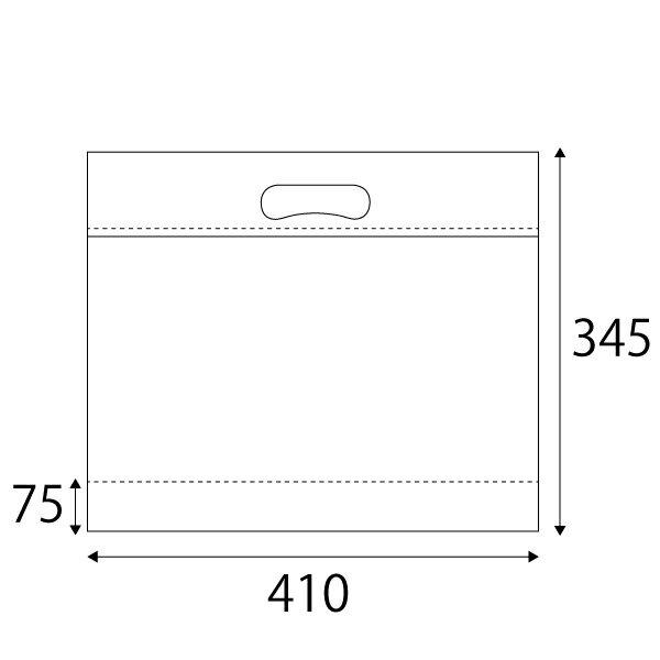 【保冷・保温袋】クールチャックバッグL W410×H345×底マチ75+75mm(10枚入)