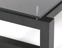 テーブル【送料無料】ガラステーブルローテーブルlooseブラックガラスモダンテイストモダンリビング北欧テイストナチュラルテイストシンプルデザイナーズインテリア家具北欧モダンアルモニア