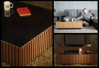 テーブルローテーブルLenoモダンテイストモダンリビング北欧テイストナチュラルテイストシンプル