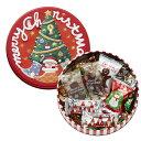 可愛らしい缶にチョコレートを詰めました モロゾフ クリスマスドリームランド 1080円