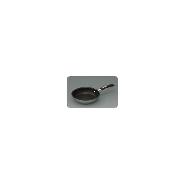 ステンレスフライパン ストリール 18cm 谷口金属 長持ち 保温性 高い 金属ヘラ対応 焦げ付きにくい キズに強い