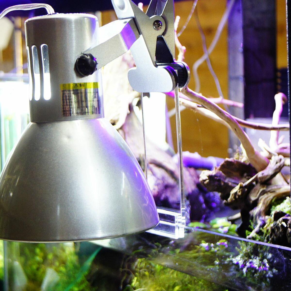 クリップライト用 アクリルライトスタンド 15cm延長 アクアリウム アクアテラリウム 水槽 ライトリフト