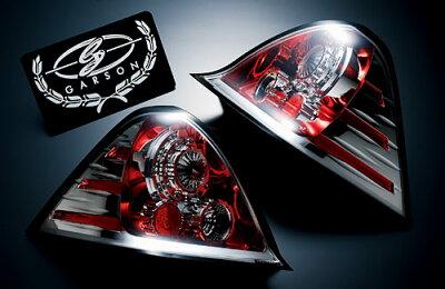 LED数(片側) : 26個ギャルソン RB1,2 オデッセイ 前期専用 LED ユーロテールレンズ 【クリス...