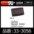 K&N リプレイスメントフィルター HONDA S660(JW5)用【33-3056】