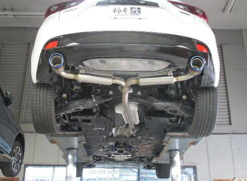 柿本改マフラーClassKRクラスケーアールアクセラスポーツXD2WD〈LDA-BM2FS〉エンジン:SH-VPTR14/01~【Z71328】
