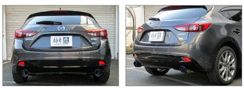 柿本改マフラーアクセラスポーツXD2WD〈LDA-BM2FS〉エンジン:SH-VPTR14/01~(10年加速)【ClassKRZ71328】