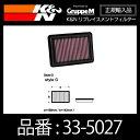 K&N リプレイスメントフィルター ホンダ フィット(GK3 GK4 GK...