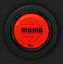 MOMO (モモ) ホーンボタン MOMO RED 〔HB-04〕