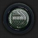 MOMO (モモ) ホーンボタン CARBON SILVER 〔HB-06〕