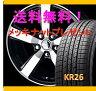 【タイヤ&アルミホイールセット】 ウ゛ォクシー AZR60G,AZR65G SMACK CORSAIR 1560+53 5-114 P 【クムホ/KUMHO】 KR26 195/65R15