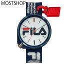 送料無料 FILA フィラ メンズ レディース 男女兼用 シリコンストラップ 時計 腕時計 プレゼント アナログ ウォッチ ブラック ホワイト グレー ブルー レッド メンズファッション 小物 通販 新作 人気 MOSTSHOP